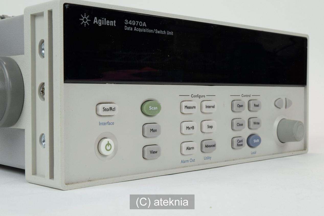 Agilent 34970A data acquisition system