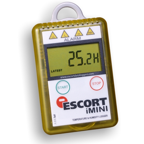 MX-HS-S-128-L: Escort iMINI Temp. / R.H. data logger